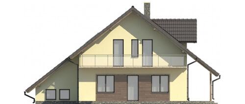 Projekt domu DM-5531 - elewacja