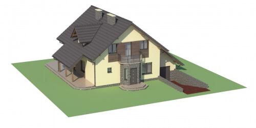 Projekt domu DM-5531 - model