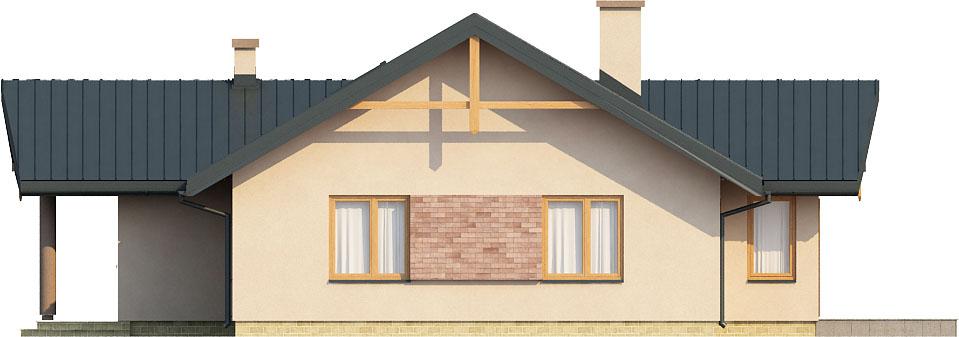 Projekt domu DM-6141 - elewacja
