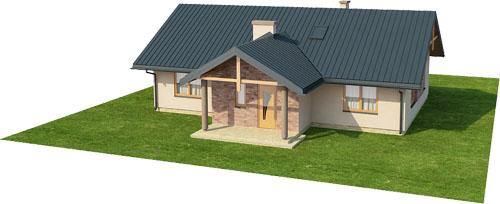Projekt domu DM-6141 - model