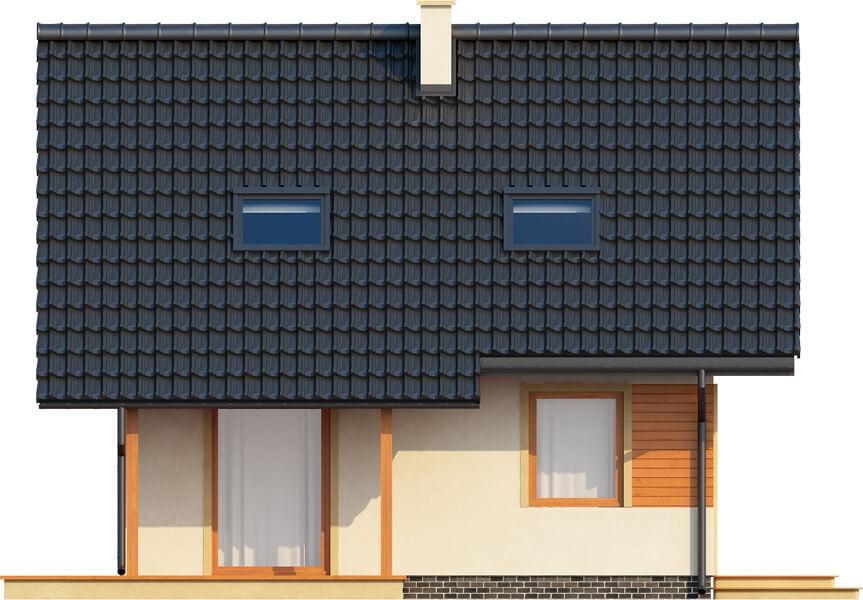 Projekt domu DM-6143 - elewacja
