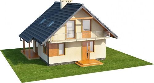 Projekt domu DM-6143 - model