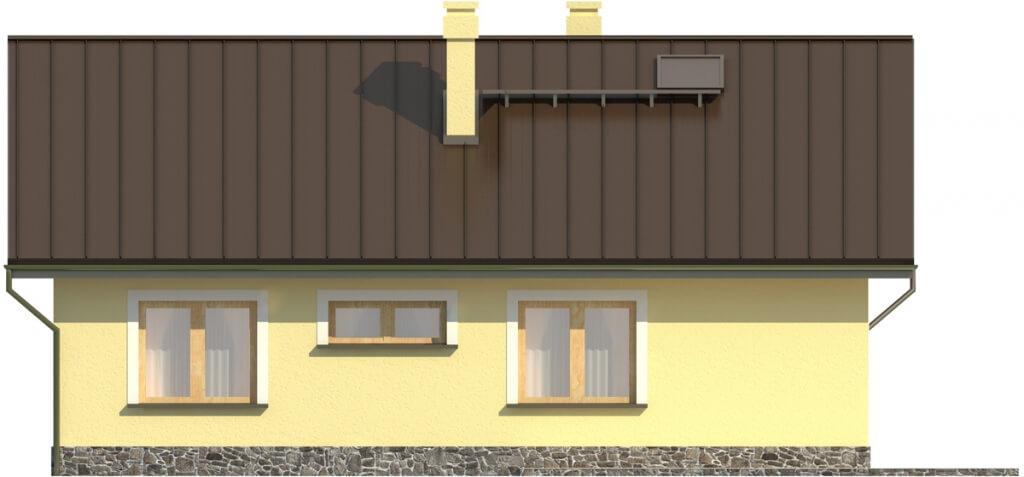 Projekt domu DM-6299. - elewacja