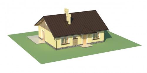 Projekt domu DM-6299. - model