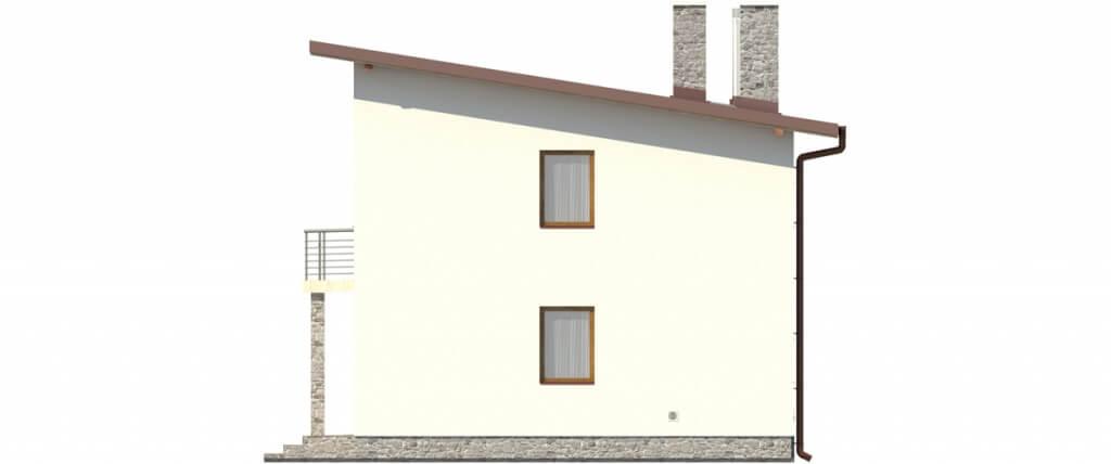 Projekt domu DM-6488 - elewacja