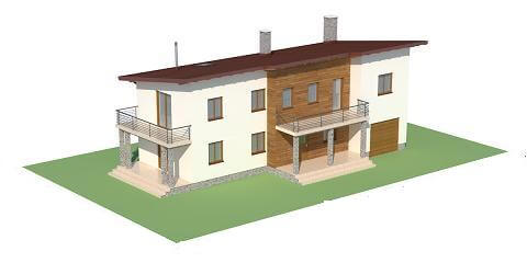 Projekt domu DM-6488 - model