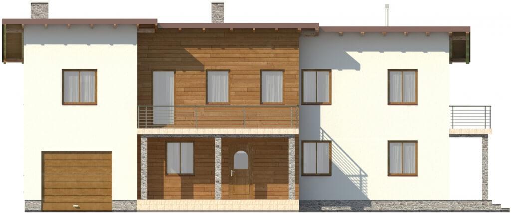 Projekt domu L-6488 - elewacja