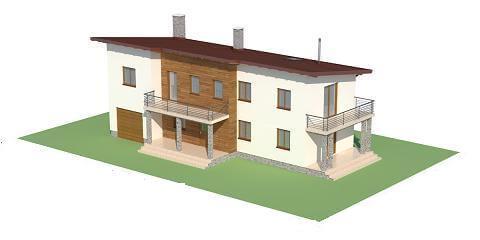 Projekt domu L-6488 - model