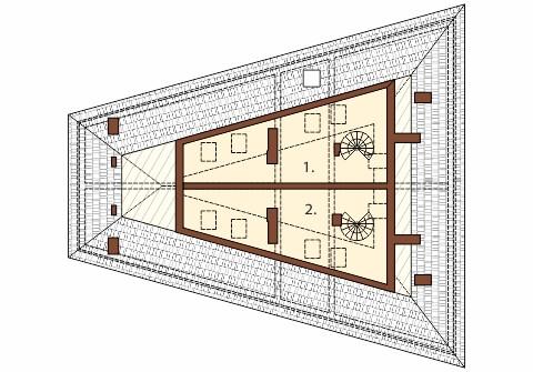 Projekt K-34 - rzut
