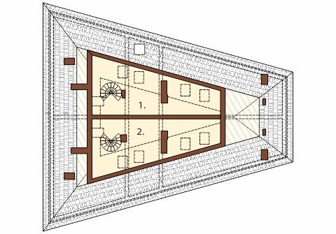 Projekt LK-34 - rzut