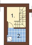 Projekt domu DM-6149 - rzut