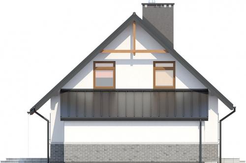 Projekt domu DM-6149 - elewacja