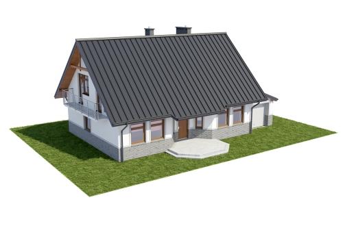 Projekt domu DM-6149 - model