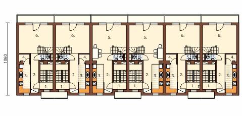 Projekt domu L-6491 - rzut