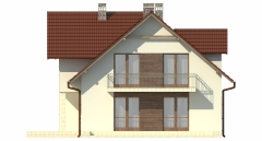 Projekt domu DM-6489 - elewacja