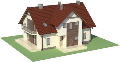 Projekt domu L-6489 - model