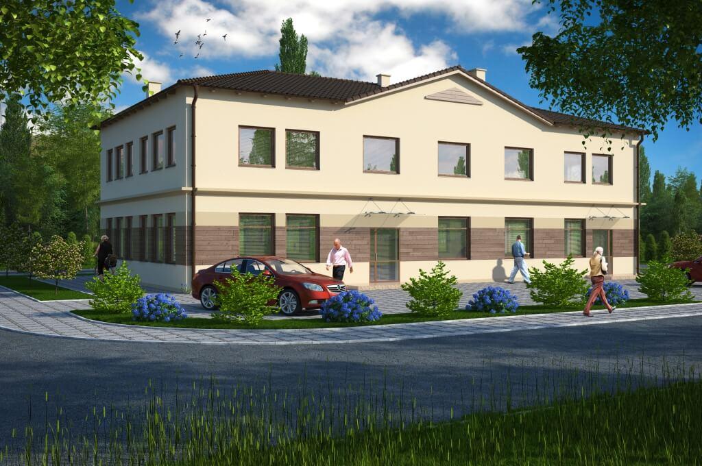 Budynek produkcyjno - usługowy