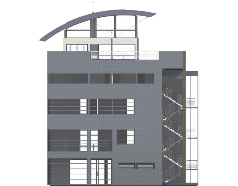 Projekt LK-30 - elewacja