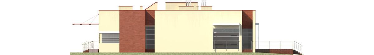 Projekt K-44 - elewacja