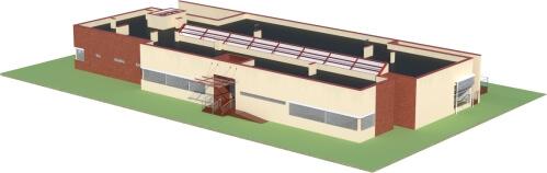Projekt K-44 - model