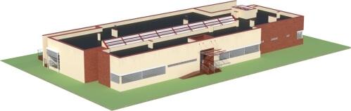 Projekt LK-44 - model
