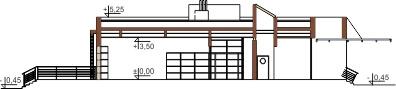 Projekt LK-44 - przekrój