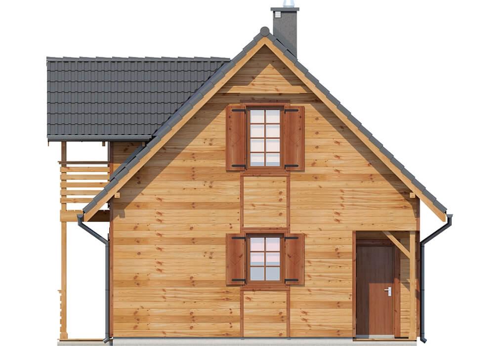 Projekt domu DM-6152 - elewacja