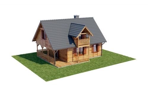 Projekt domu DM-6152 - model