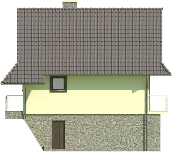 Projekt domu L-6038 - elewacja