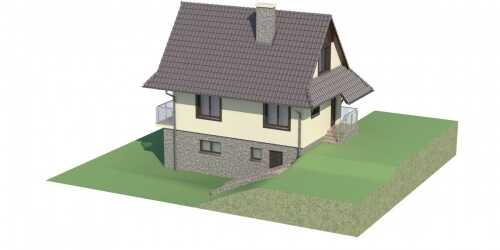 Projekt domu L-6038 - model