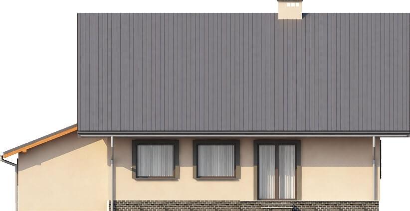 Projekt domu DM-6156 - elewacja