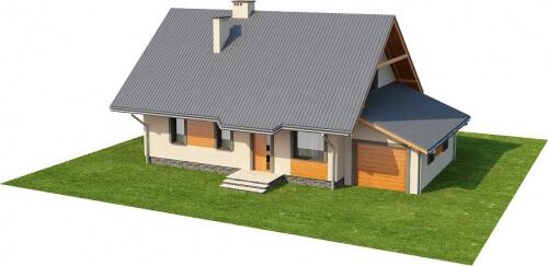 Projekt domu DM-6156 - model