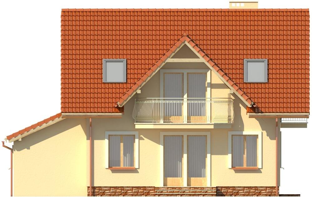 Projekt domu DM-6190 B - elewacja