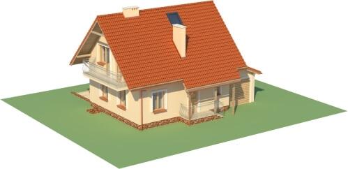 Projekt domu DM-6190 B - model