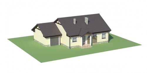 Projekt domu DM-5538 - model
