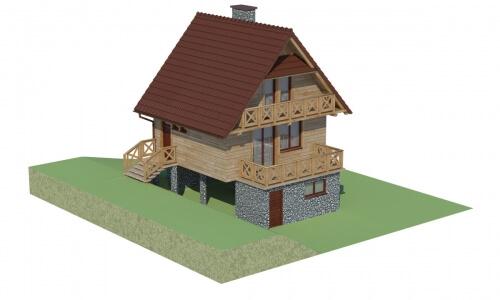 Projekt domu L-6082 - model
