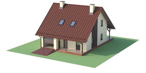Projekt domu DM-6159 - model