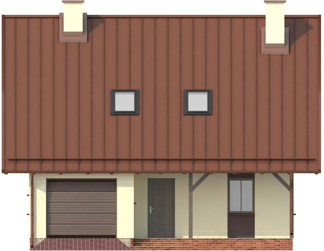 Projekt domu DM-6159 - elewacja