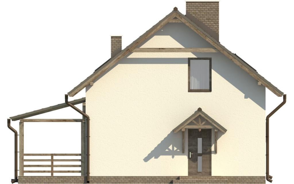 Projekt domu DM-6500 - elewacja