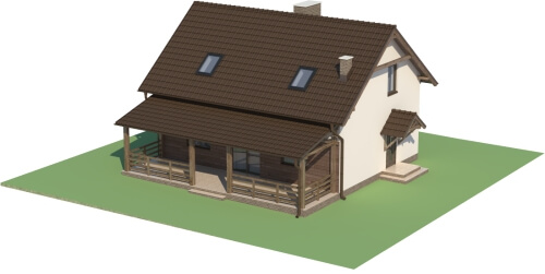 Projekt domu DM-6500 - model