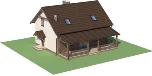 Projekt domu L-6500 - model