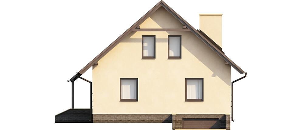 Projekt domu DM-6164 - elewacja