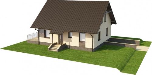 Projekt domu DM-6164 - model