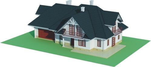 Projekt domu DM-6350 B - model