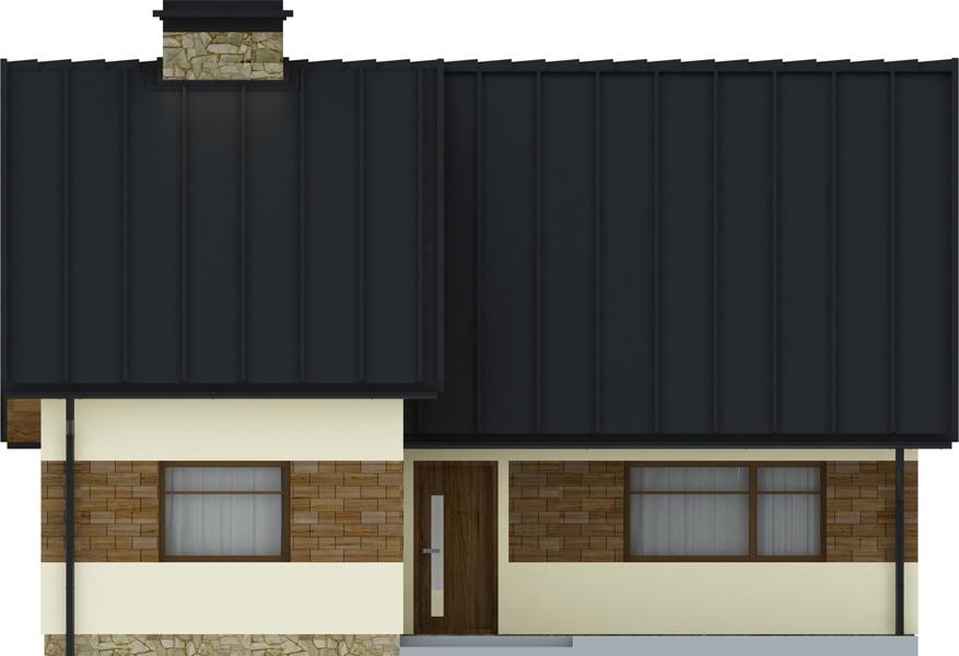 Projekt domu DM-6165 - elewacja