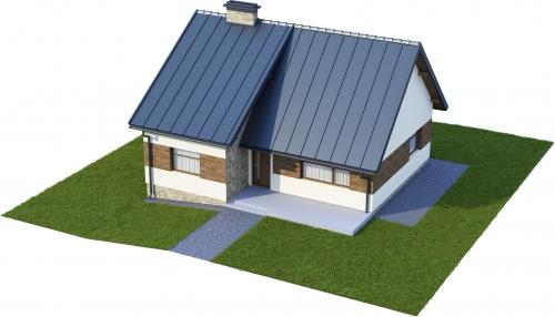 Projekt domu DM-6165 - model