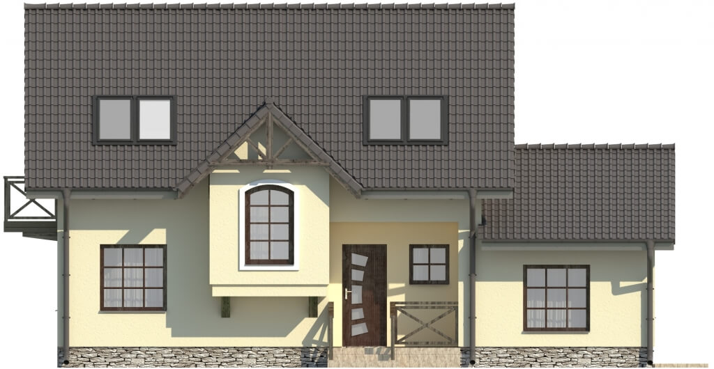Projekt domu DM-6251 B - elewacja