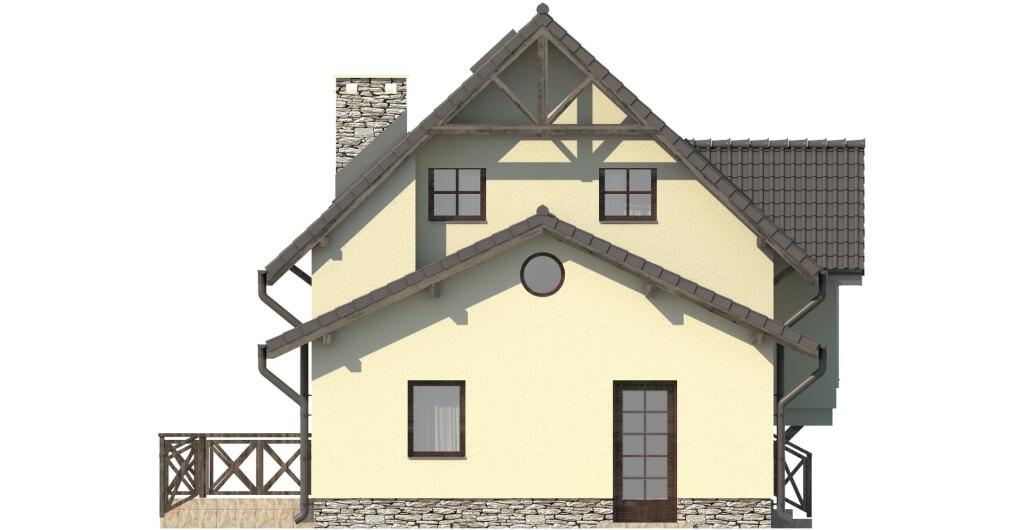 Projekt domu L-6251 B - elewacja