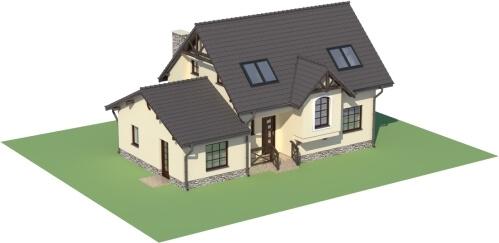 Projekt domu L-6251 B - model