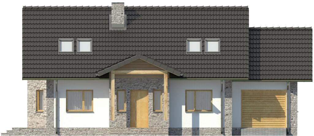 Projekt domu DM-6168 - elewacja
